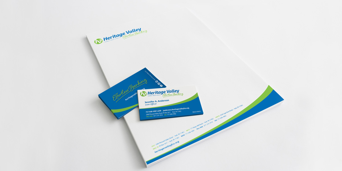 Heritage Valley Federal Credit Union – Rebranding Campaign