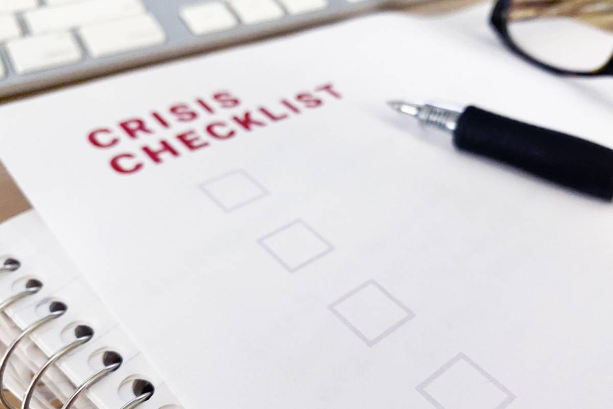 A Crisis Checklist for Your Business